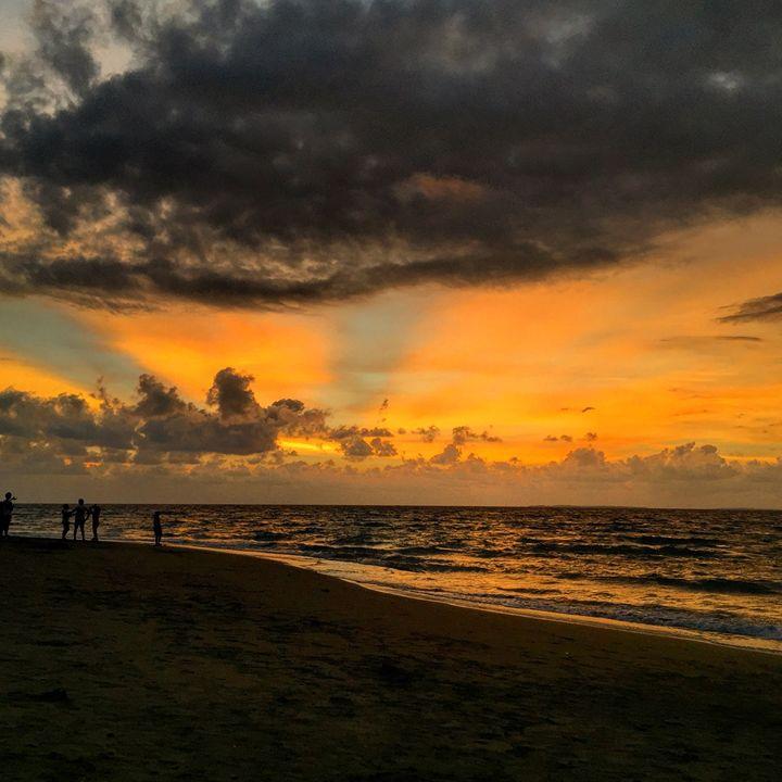 Potipot Island Sunset view - Kitchie Panget