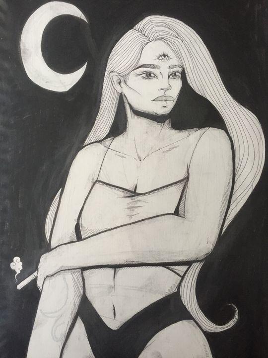 TOPTON - Inked Illustrations