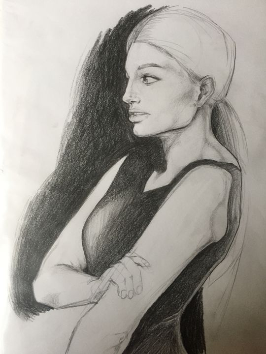 Mariah - Inked Illustrations