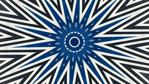 Pointy Blue
