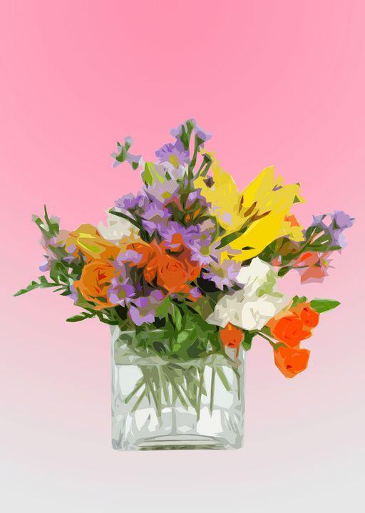 Flower Vase P - De Villa Artworks