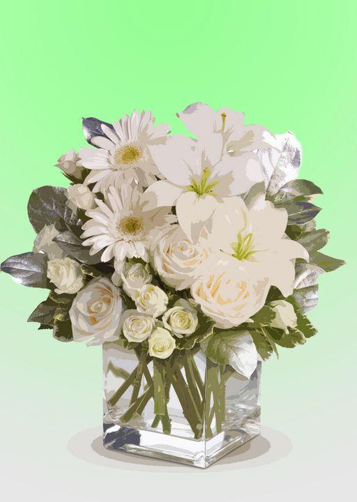 Flower Vase R - De Villa Artworks