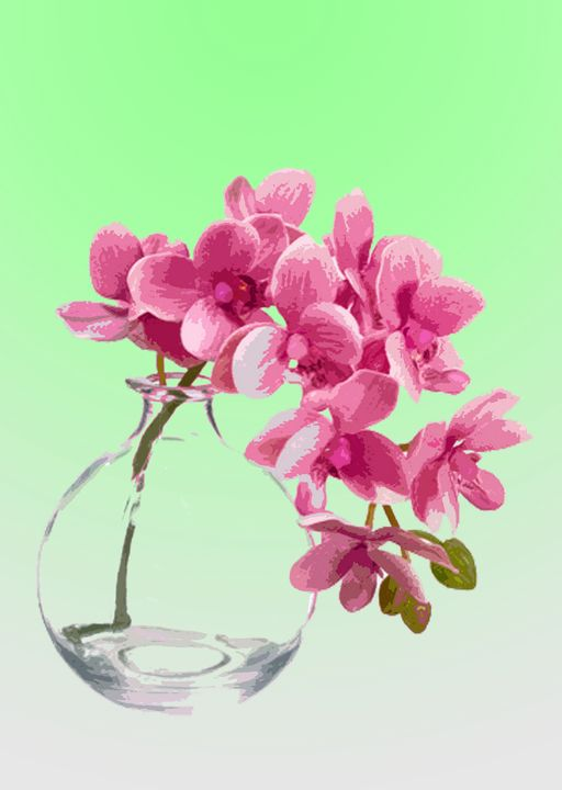 Flower Vase AG - De Villa Artworks