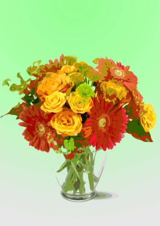 Flower Vase AJ - De Villa Artworks