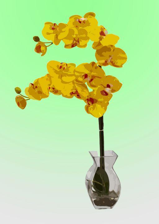 Flower Vase AK - De Villa Artworks