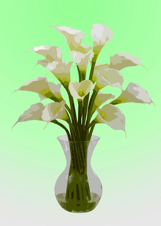 Flower Vase AL - De Villa Artworks