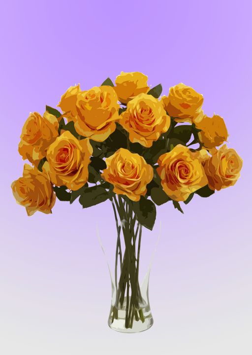 Flower Vase AM - De Villa Artworks