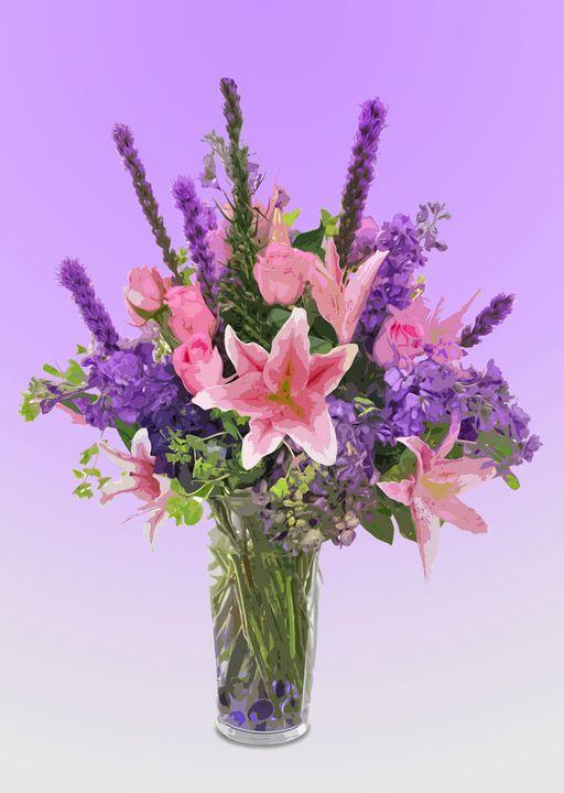 Flower Vase AN - De Villa Artworks