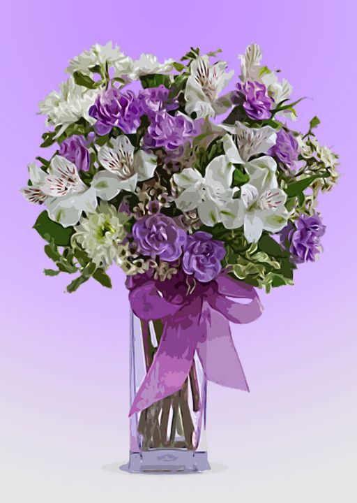 Flower Vase AP - De Villa Artworks