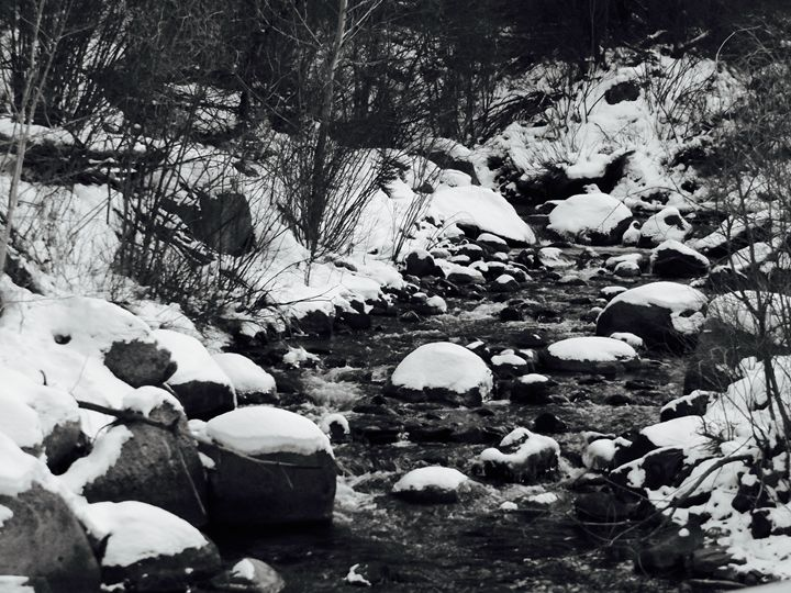 Snowy Creek - Alex Myers Arts & Photography
