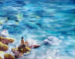 Sea Dreams - Art by Julie Henderson