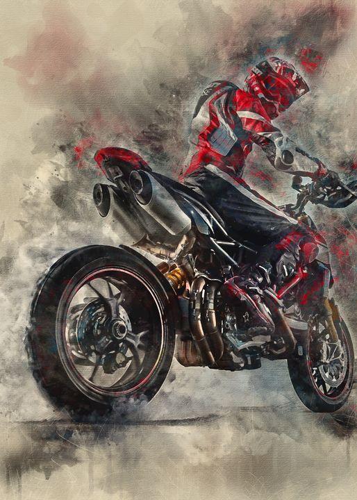 2019 Ducati Hypermotard 950 SP - Jun Design