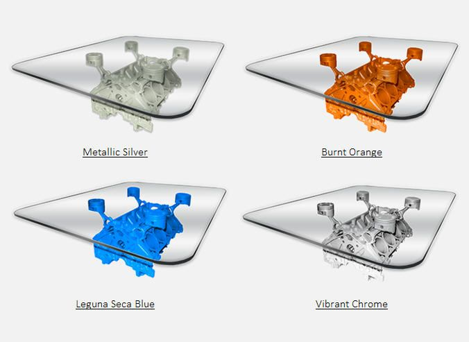 Available Colors - BlockHead Designs