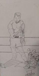 Cassius Clay  Vs Uncle Sam