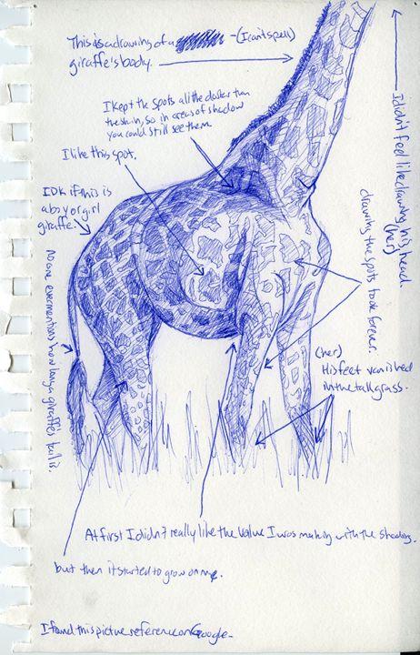 Giraffe - David Jon Canny