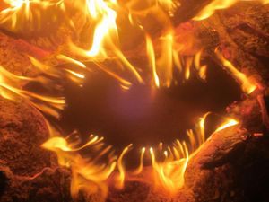 Mouth in the Flames