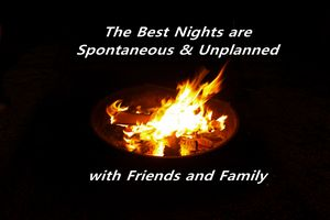 The Best Nights are Spontaneous