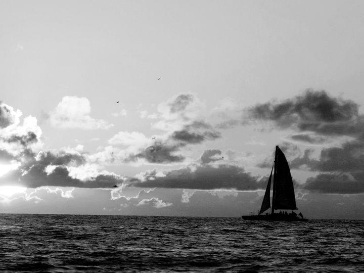 Sailboat at Dusk - JAJ Photography