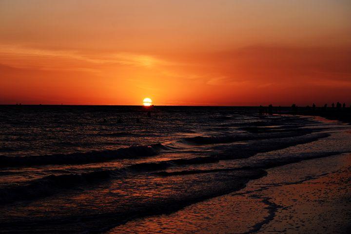 Sunset At the Beach - JAJ Photography