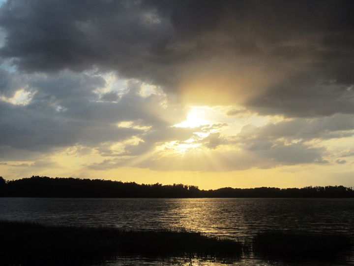 Rays of the Sun in the Water - JAJ Photography
