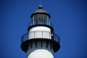 Looking Up at St Simons Lighthouse