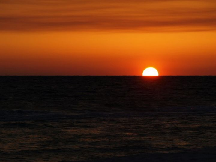 Sunsetting into the Gulf of Mexico - JAJ Photography