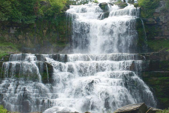 Waterfall at Chittenango Falls - JAJ Photography