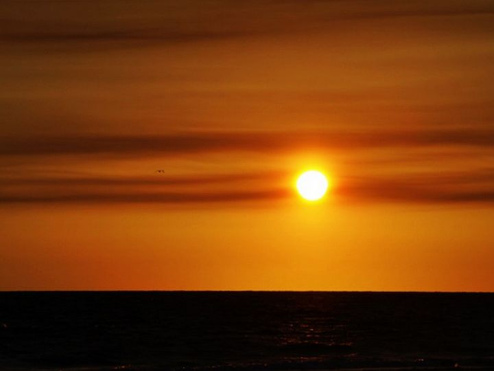 Sunset Over the Gulf of Mexico - JAJ Photography