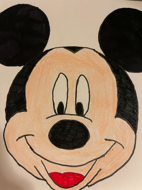 Mickey Mouse - Egyptian Goddess