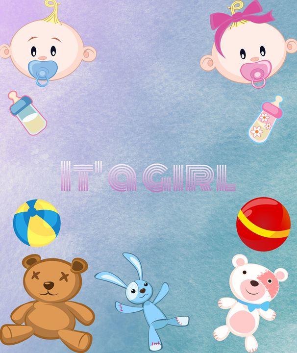 Baby Girl Poster - Jill's Gallery