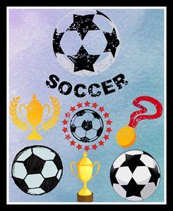 Soccer Poster - Jill's Gallery