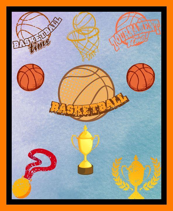 Basketball Poster - Jill's Gallery