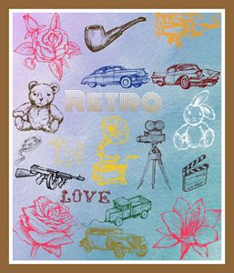Retro Poster - Jill's Gallery