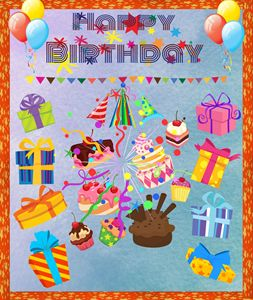Birthday Poster - Jill's Gallery
