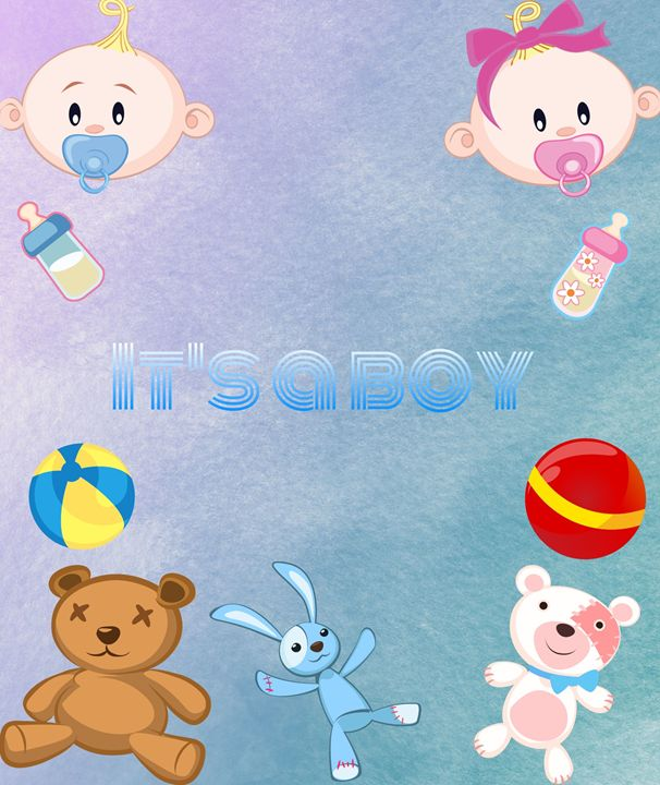 Baby Boy Poster - Jill's Gallery