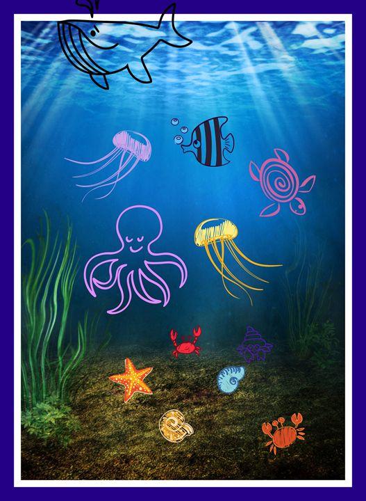 Ocean Poster - Jill's Gallery