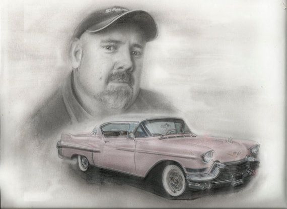 Custom Car Drawing - Wright Way Graphics