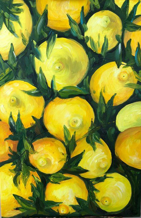 Sicily lemons - Tetiana Tomiak