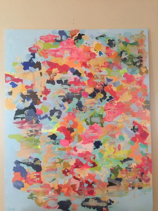 Splattered Paint - Lauren Holcombe