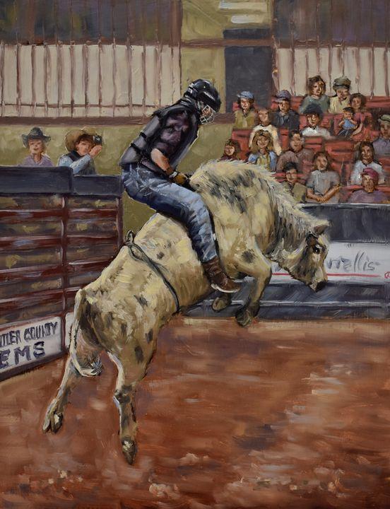 Bull Riding - Elisa Arancibia -Studio