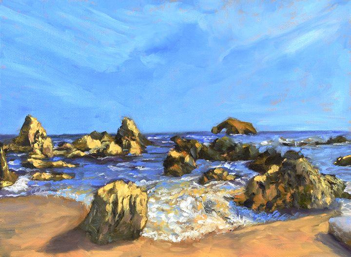 """Rocky Shore"" - Elisa Arancibia -Studio"