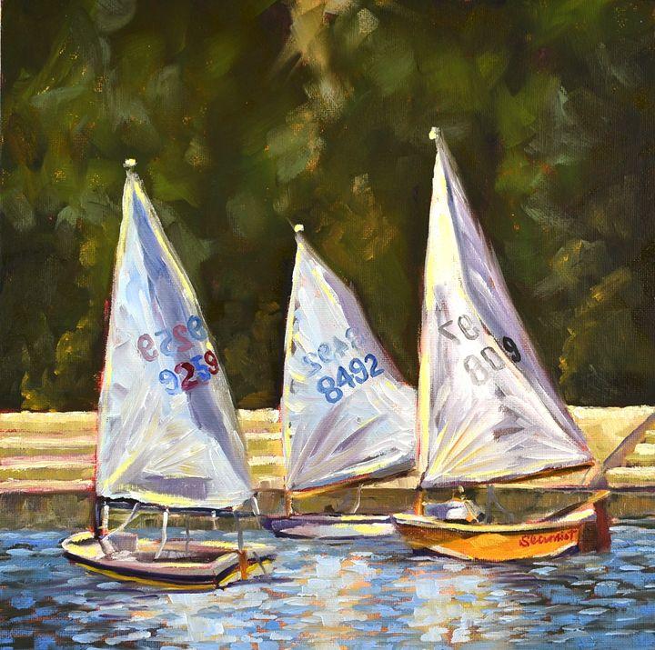 """Sailing Together"" - Elisa Arancibia -Studio"