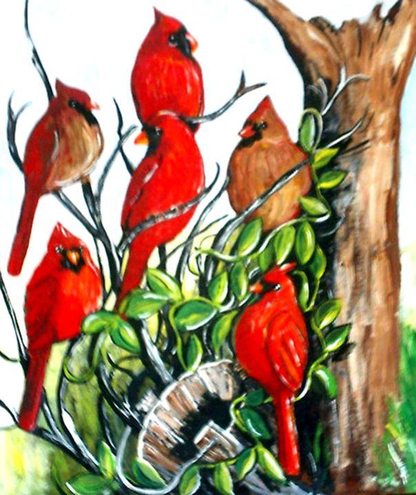 Red Cardinal Bird Conference - DMO
