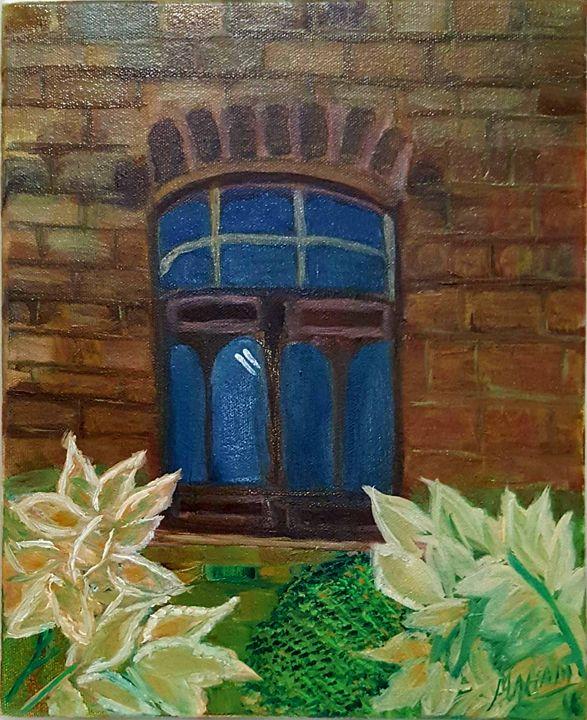 Oil painting - Syeda Maham Riaz