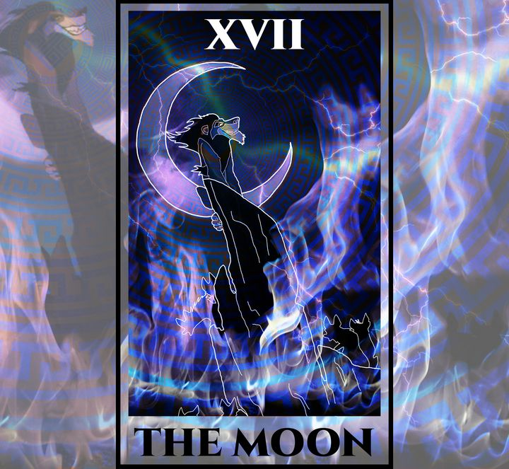 The Moon Tarot - The Lion King - Basha the Astrologer