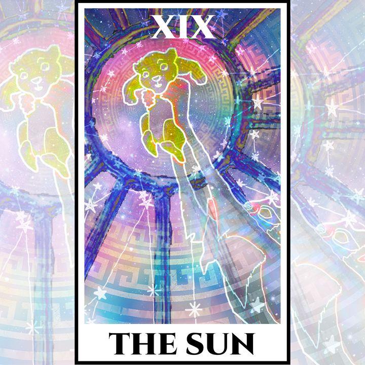 The Sun Tarot - The Lion King - Basha the Astrologer