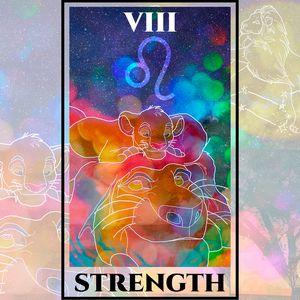 Strength Tarot - The Lion King