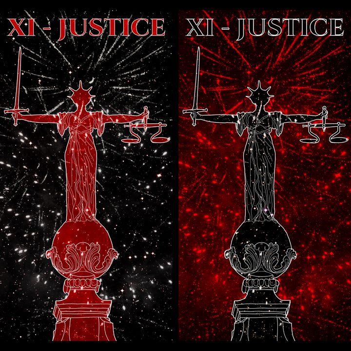XI - JUSTICE - Basha the Astrologer