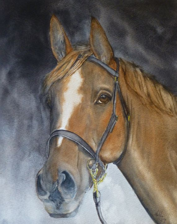 Horses Beauty - Kelly Mills Paintings