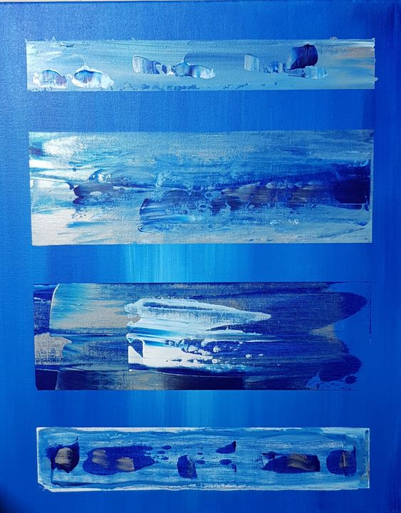 Blue bands - Dorothee Dhaussy